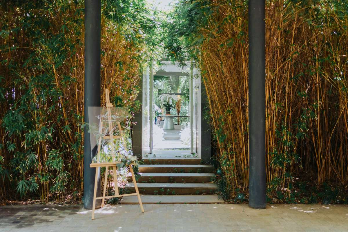 The Ceremony at Glass House | Indoor Wedding