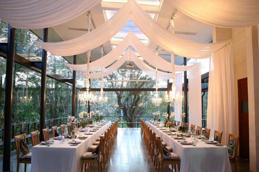 The Reception at Glass House