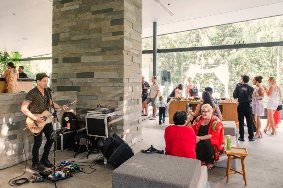 Reception at Glass House