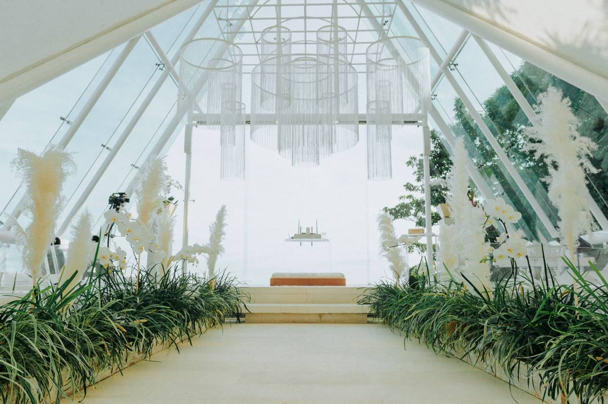 The Ceremony at Tirtha Uluwatu | Chapel Wedding